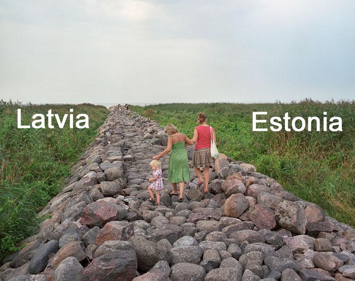 What Peaceful Borders Between European Countries Look Like