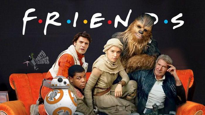 Friends And Star Wars – The Most Beloved Video In All Galaxy!