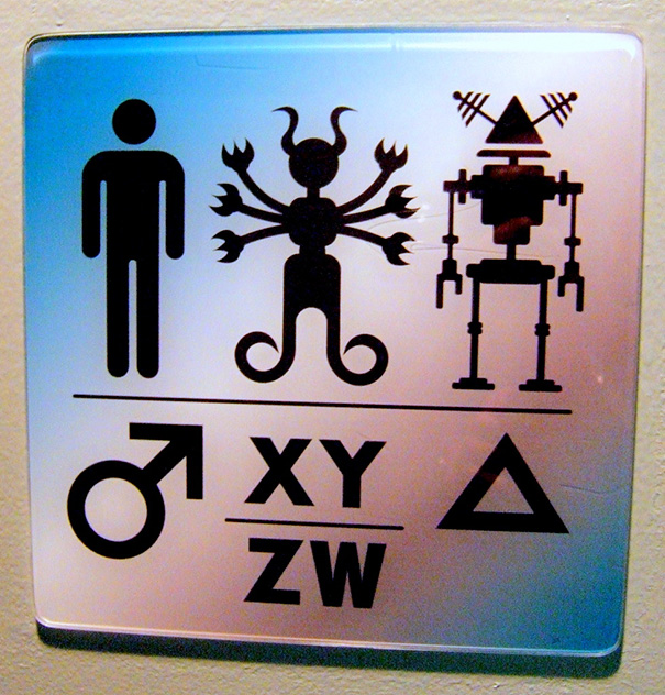 17 Cute Crude Clever And Progressively WTF Bathroom Gender Signs