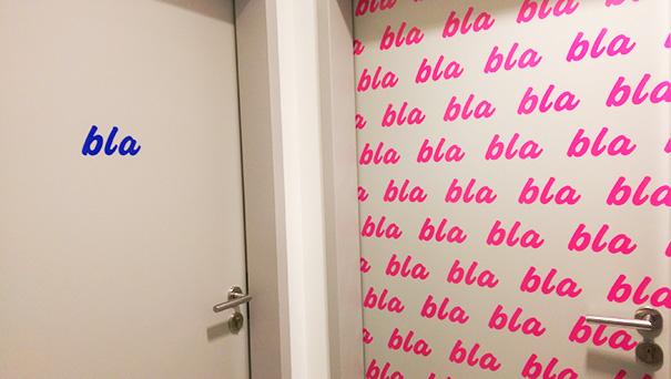Bathroom Doors At Restaurant In Germany