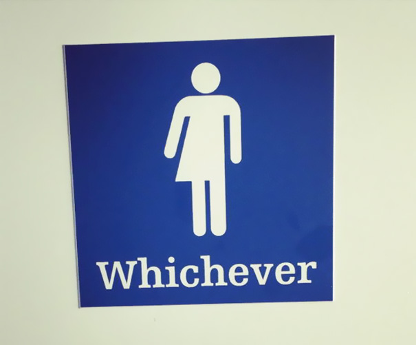 clever bathroom signs. couldn\u0027t care less clever bathroom signs