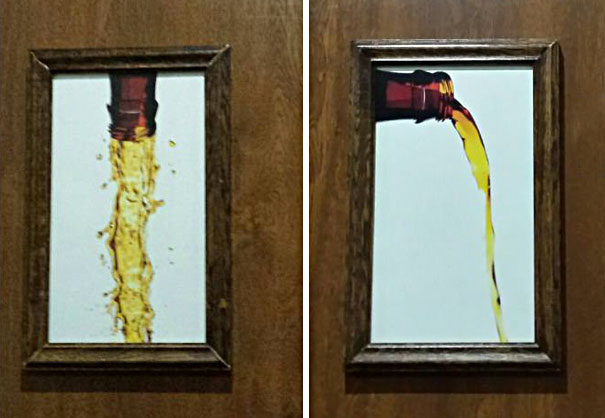 20+ Of The Most Creative Bathroom Signs Ever | Bored Panda