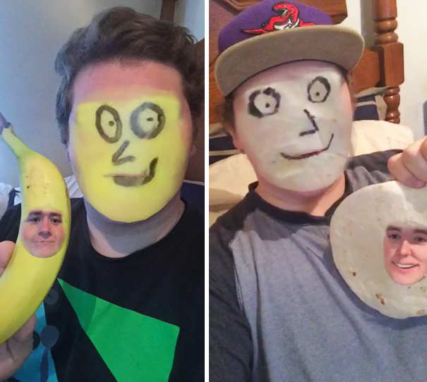 This New Snapchat Face Swap Thing Is Pretty Cool