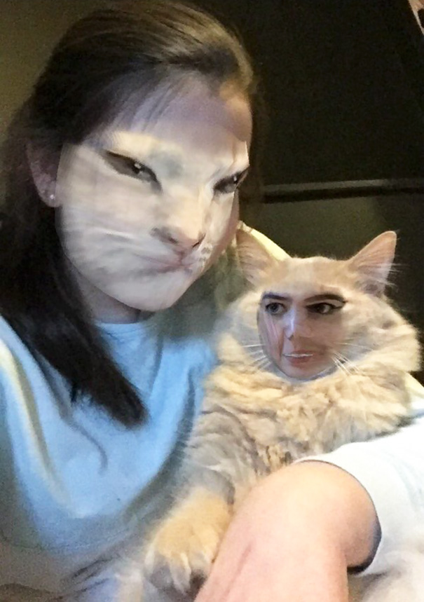 I Just Love Looking Like My Cat
