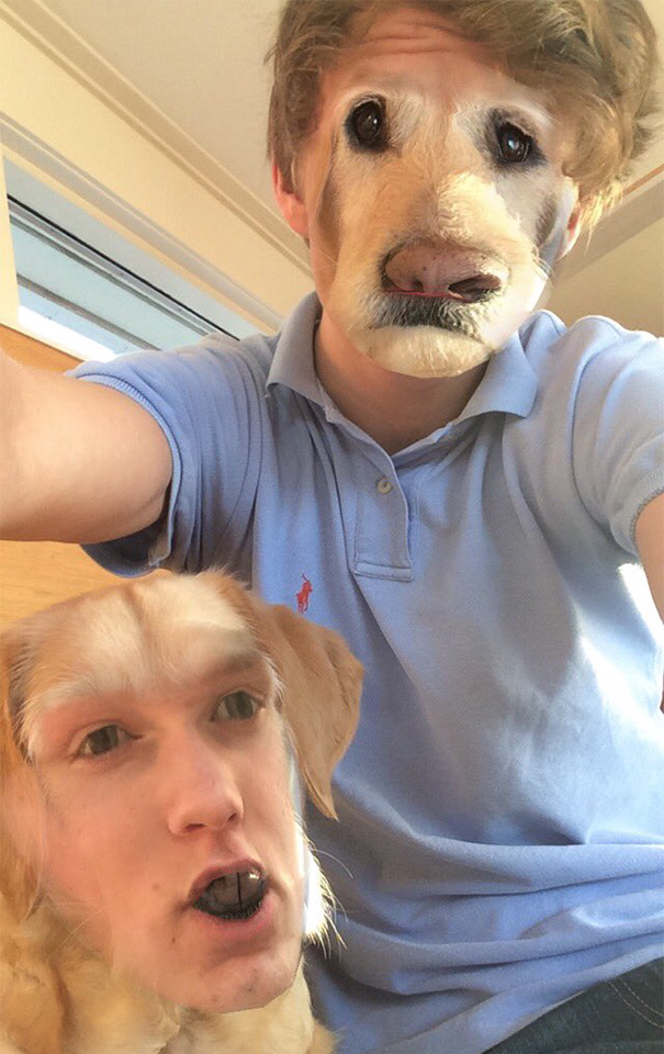 Face Swap With My Dog