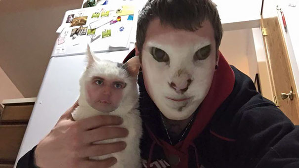 Snapchat Face Swap With My Cat