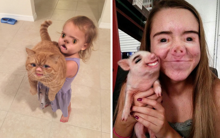 69 Funniest Face Swaps From The Most Terrifying Snapchat Update Ever