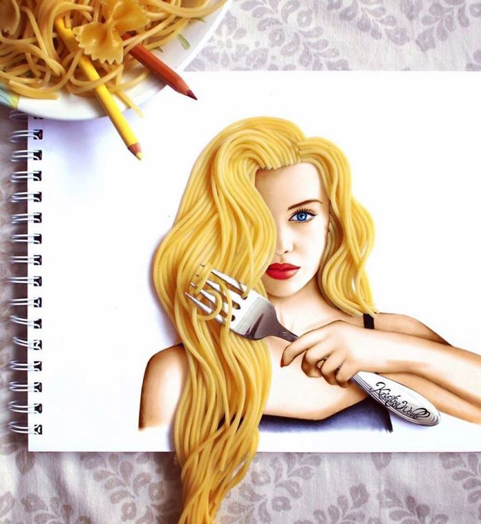 Great Artworks 19-year-old Girl Pictures Thoughtful Creative