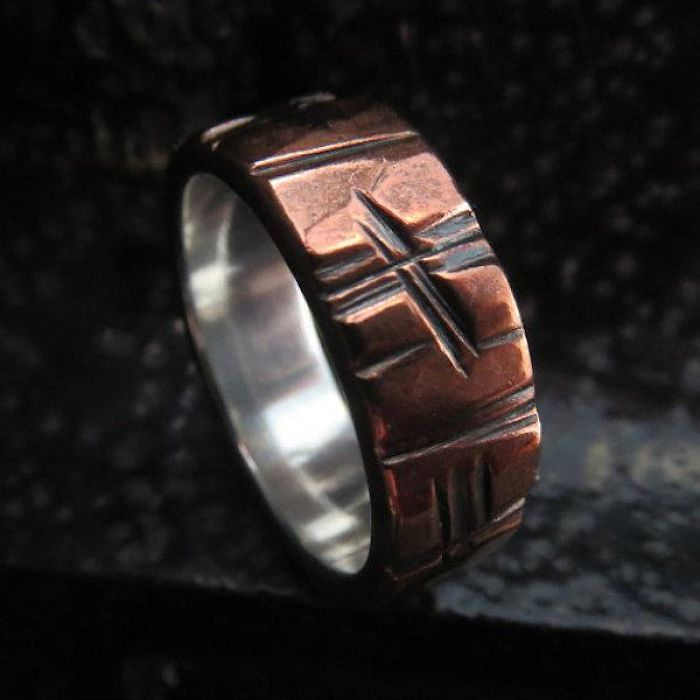Hand Crafted Wedding Rings For Men, By Boot And Hammer