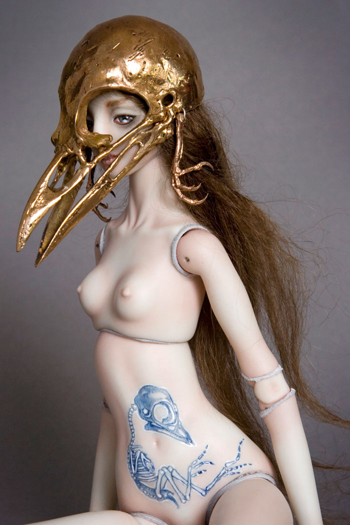 Enchanted Handmade Porcelain Dolls For Adults By A Russian Designer (nsfw)