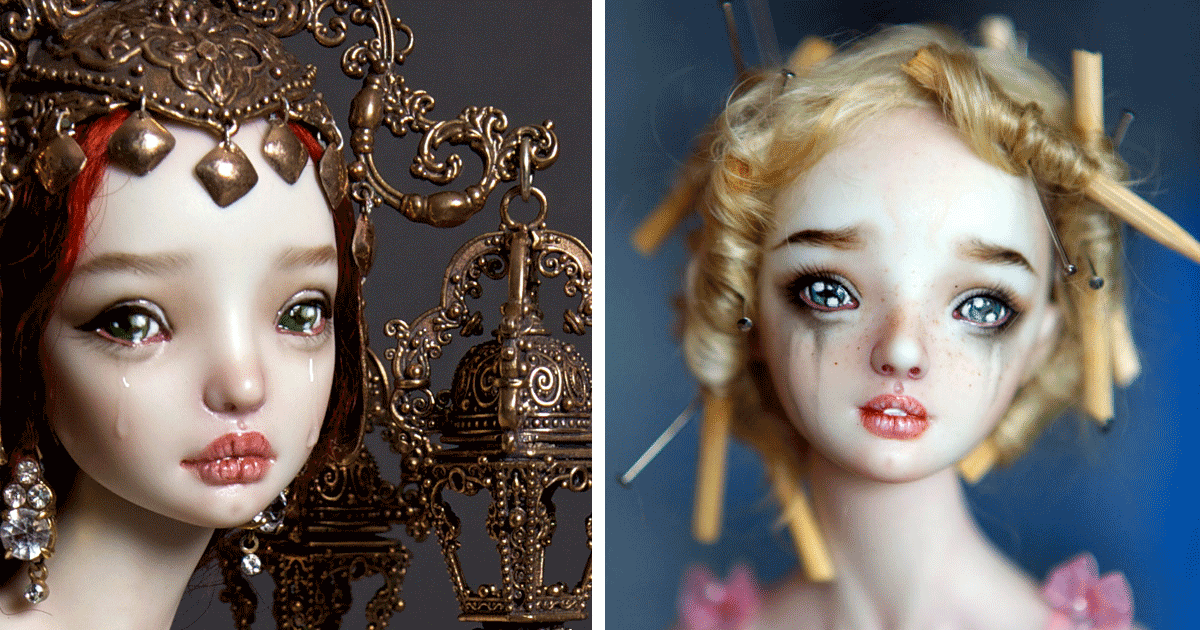 creepily realistic nsfw porcelain dolls by russian artist bored panda