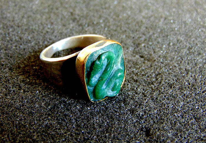 Slytherin Graduation Ring