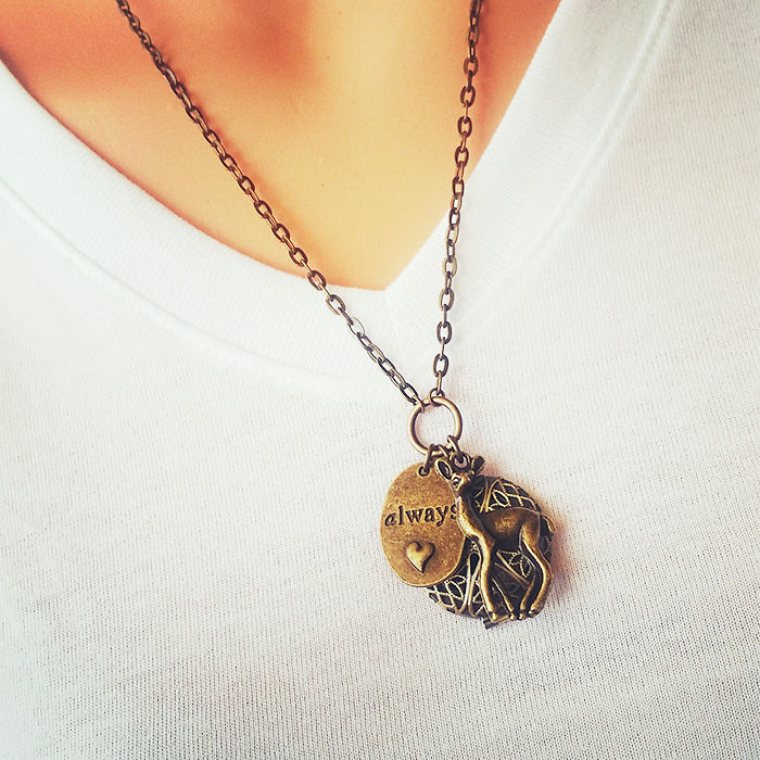 Lily And Snape Inspired Locket