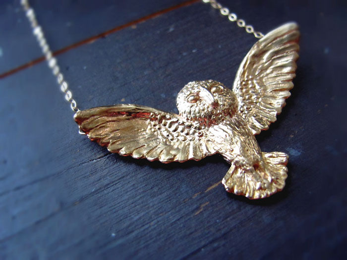 Owl Hedwig Necklace