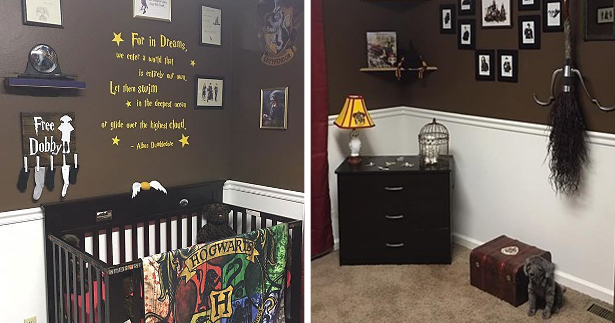 Parents Create Harry Potter Nursery For Their Muggle