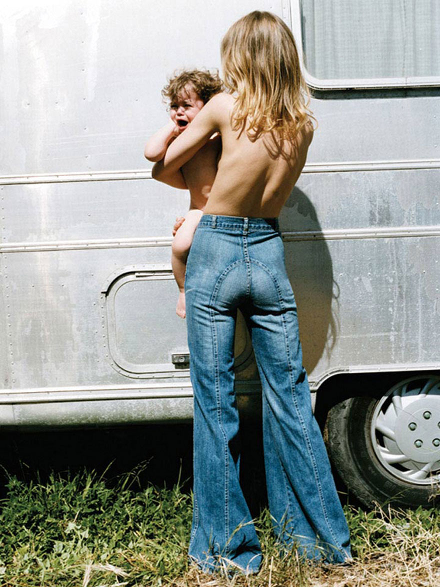 Hippie Mom At The Woodstock Music Festival