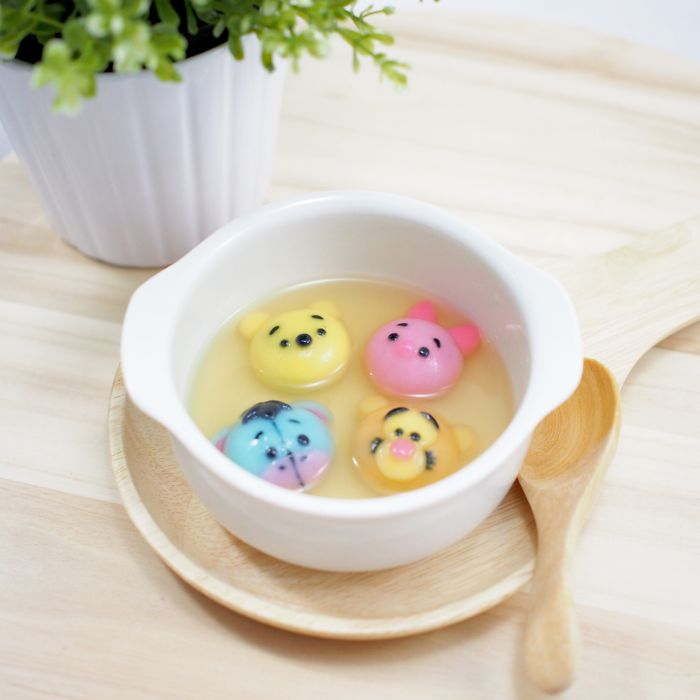 How I Make Winnie The Pooh Inspired Rice Dumplings