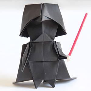 How To Make An Origami Darth Vader