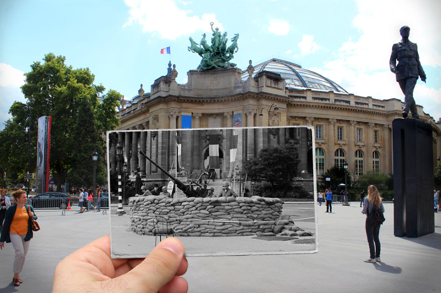 Imagen I Combined Old And New Photos Of Paris To Bring History To Life 12 880