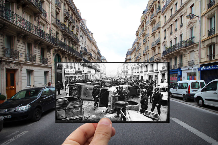 Imagen I Combined Old And New Photos Of Paris To Bring History To Life 14 880