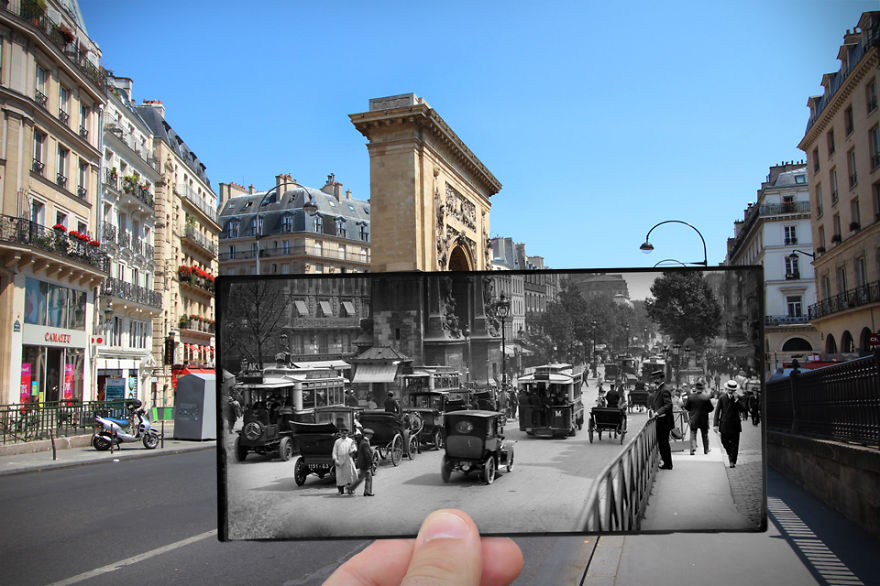 Imagen I Combined Old And New Photos Of Paris To Bring History To Life 15 880