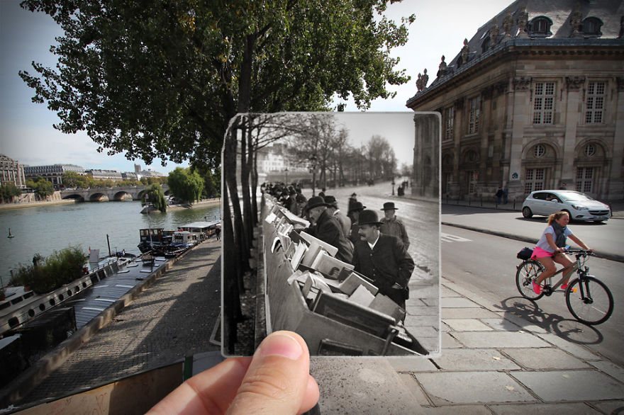 Imagen I Combined Old And New Photos Of Paris To Bring History To Life 16 880