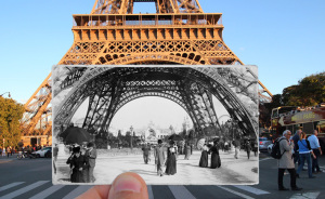 I Combined Old And New Photos Of Paris To Bring History To Life