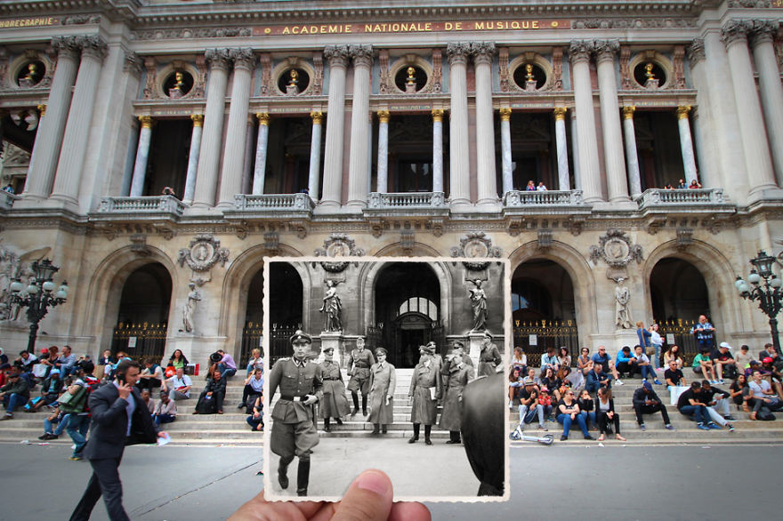 Imagen I Combined Old And New Photos Of Paris To Bring History To Life 2 880