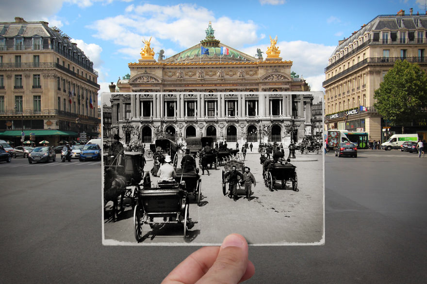 Imagen I Combined Old And New Photos Of Paris To Bring History To Life 5 880