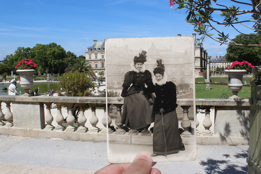 Imagen I Combined Old And New Photos Of Paris To Bring History To Life 6 880