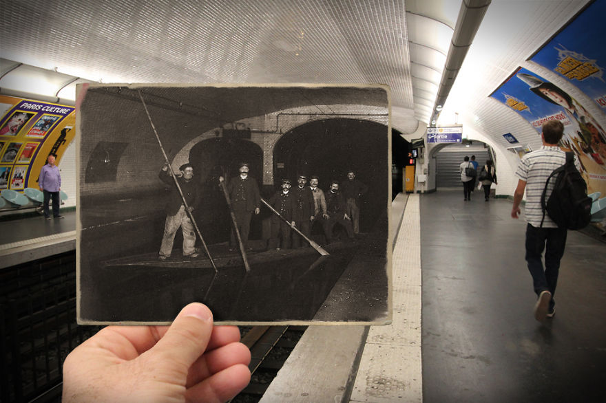 Imagen I Combined Old And New Photos Of Paris To Bring History To Life 8 880