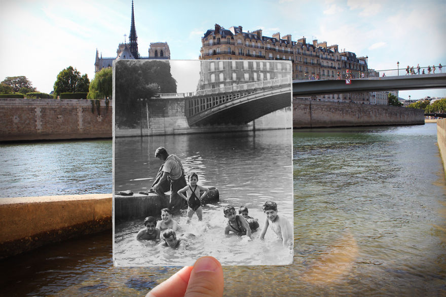 Imagen I Combined Old And New Photos Of Paris To Bring History To Life 9 880