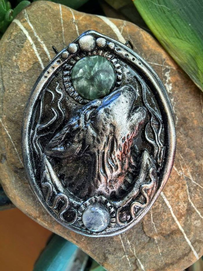 I Create Intricate Hand Sculpted Magical Talismans From Polymer Clay