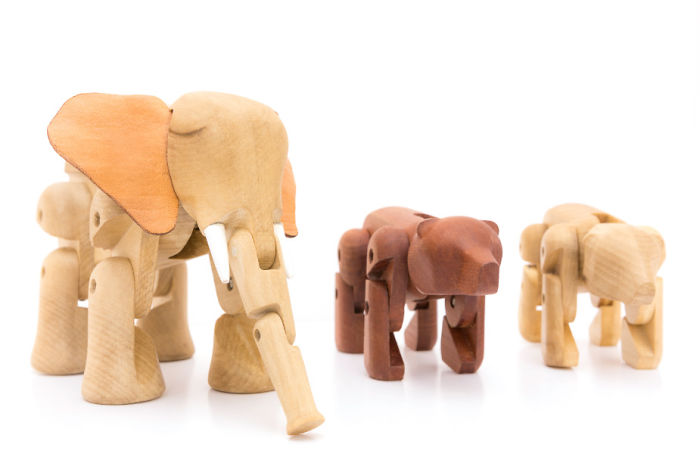 I Create This Wooden Animal Toys To Improve The Development Of This Part Of Chile.