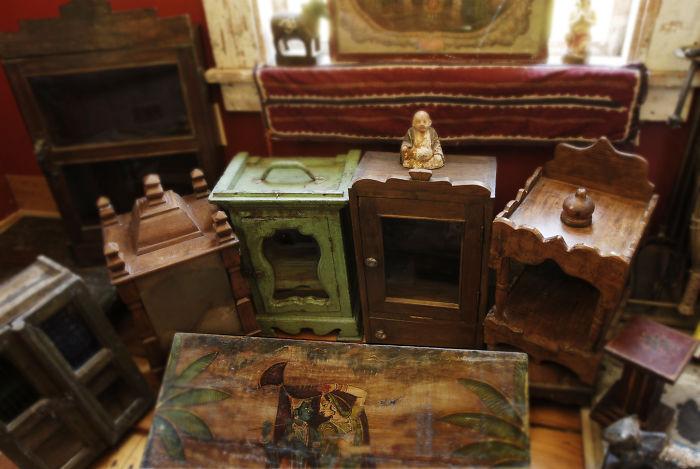 These Used Antique Pieces…