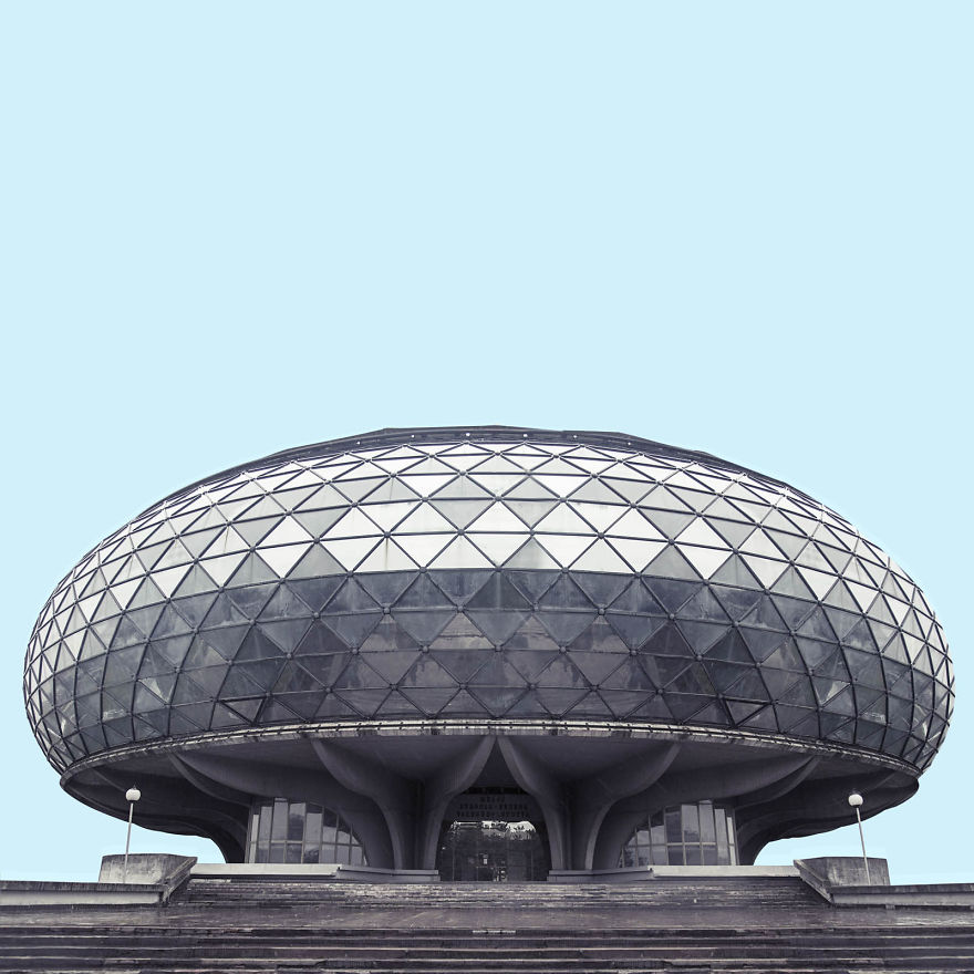 I Found Architecture From Star Wars In Belgrade Bored Panda
