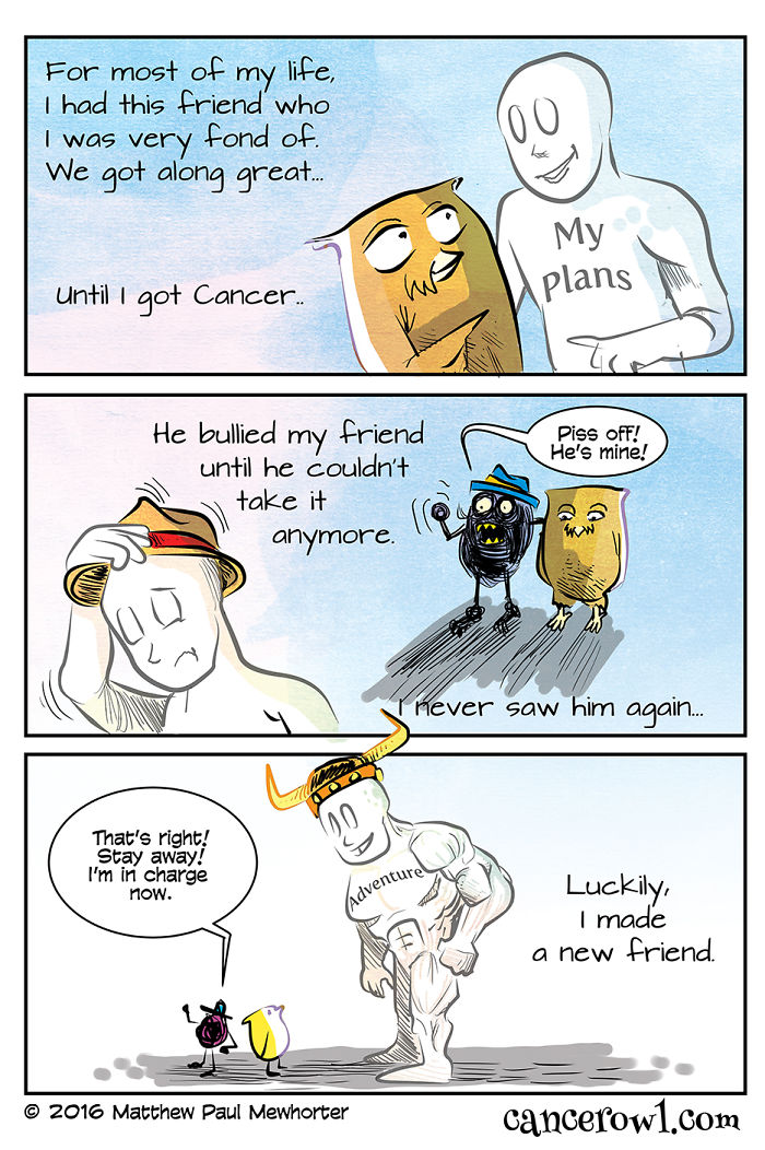 I Make Comics About Cancer Based On My Experience