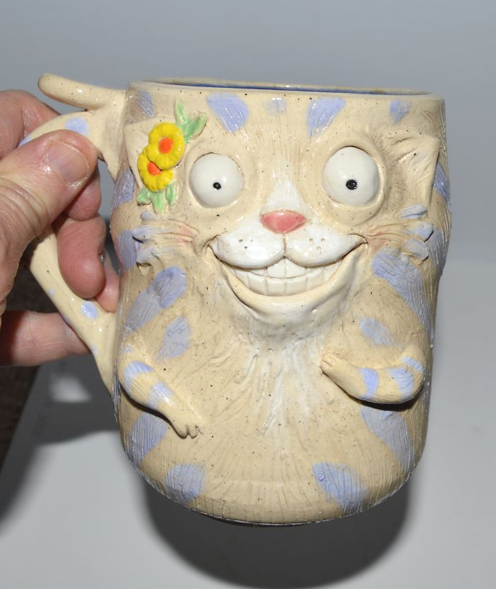 I Make One Of A Kind Cat Mugs