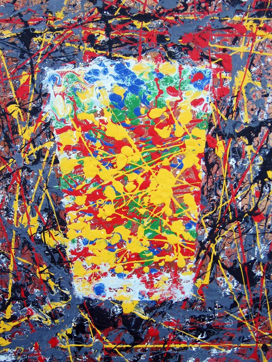 Inspired By Jackson Pollock