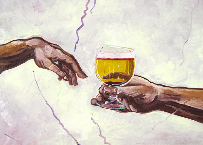 I Recreate Famous Paintings And Add Beer