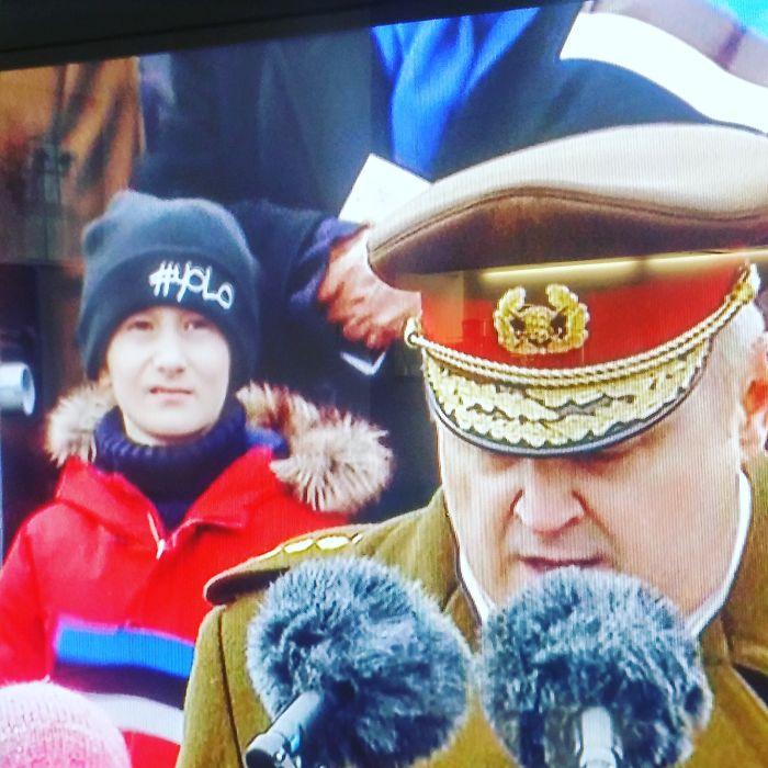 I Took This Snapshot During Estonian Independence Day Parade