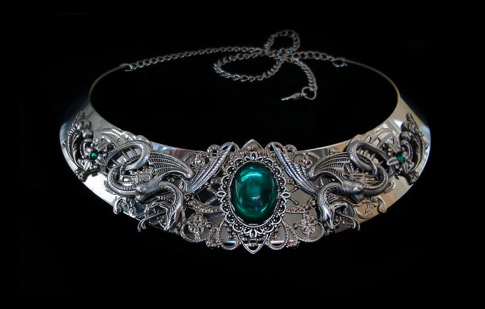 Salazar Slytherin Necklace