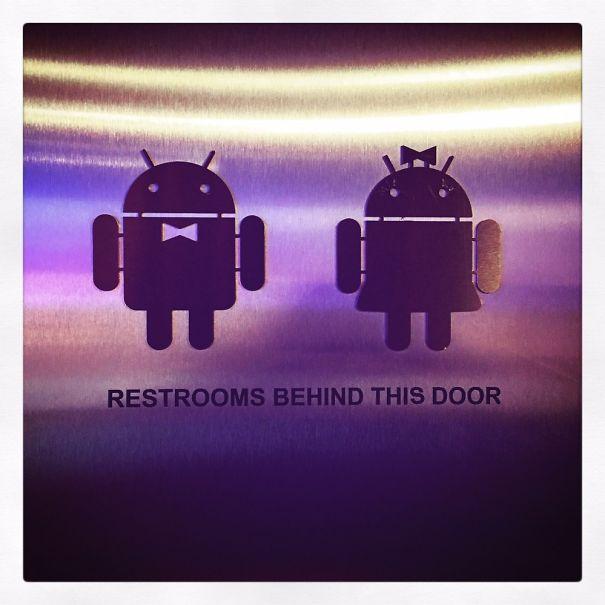 #androidtoilet