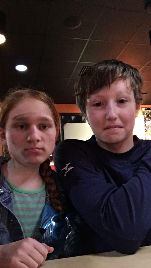 Slightly Terrifying Face Swaps