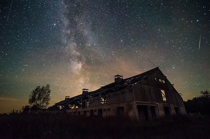 It Took Me 6 Months To Finish This Time Lapse Video Of Lithuanian Night Sky