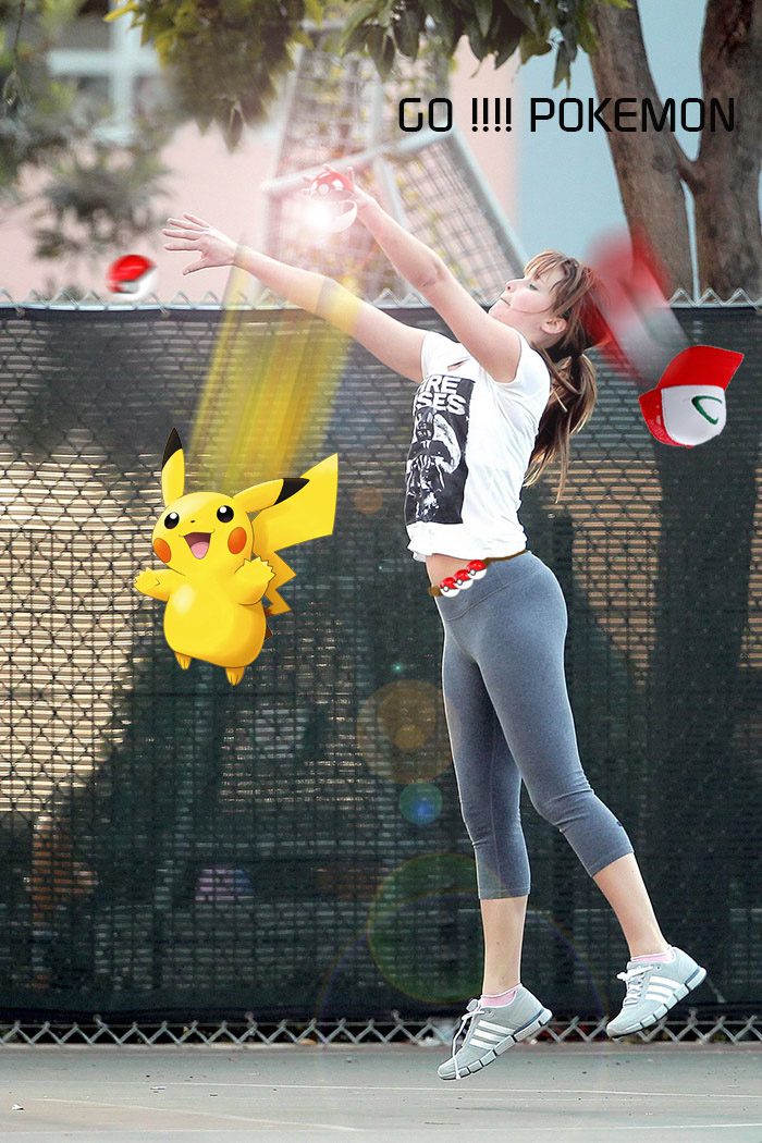 Enough Pikachu.. Go Another Pokemon !!! :d Jennifer Trainer