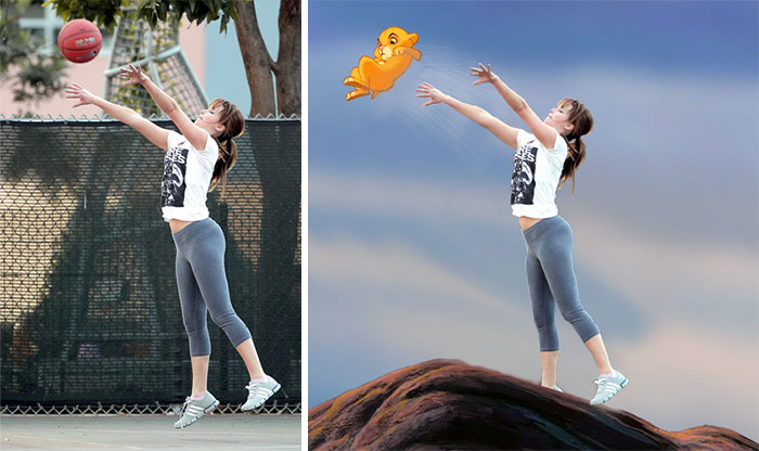 Jennifer Lawrence Plays Basketball And The Photoshop Games Begin (12+ pics)