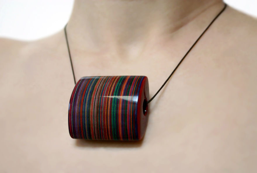 Jewelry Made Of Vintage Books