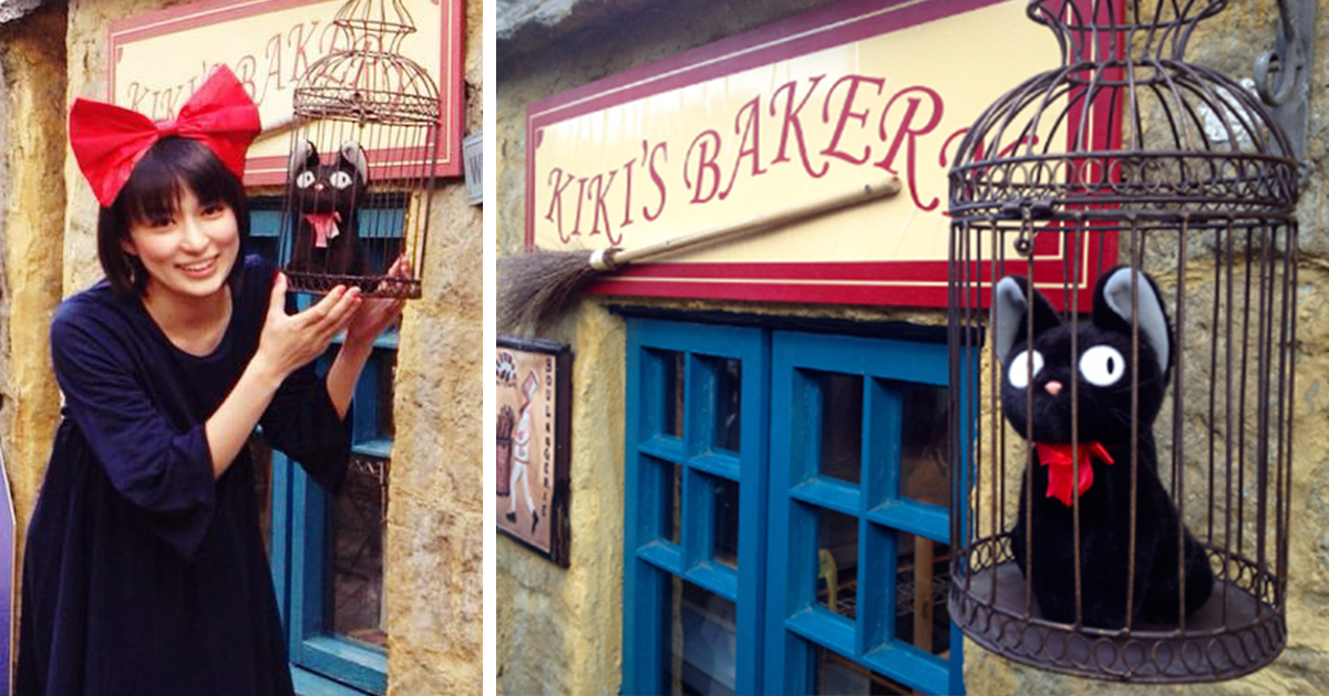 Kiki's Bakery Is Real, And Of Course It's In Japan