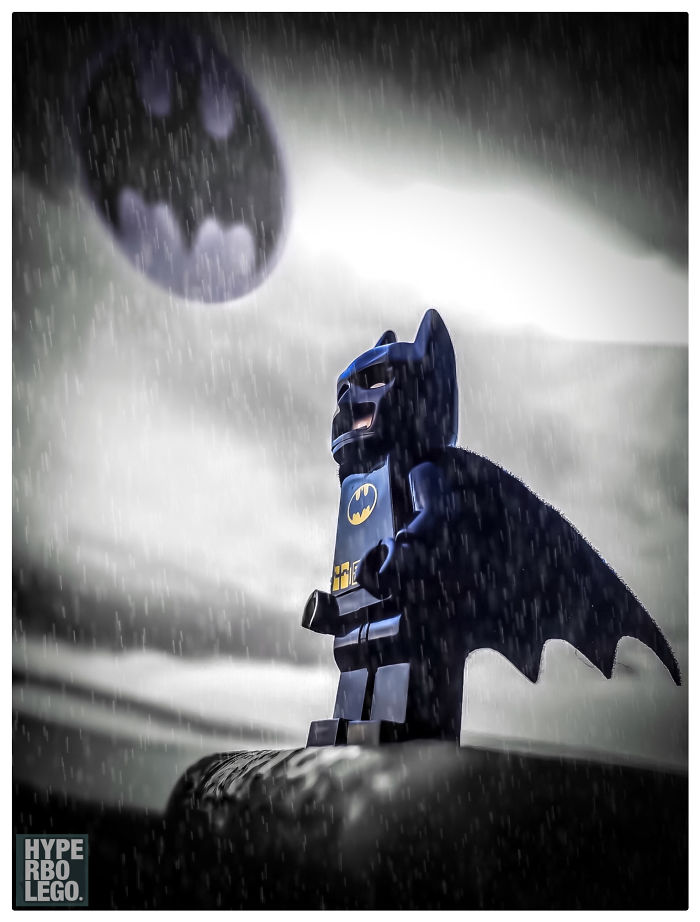 Lego Batman Just Loves The Light Drizzle